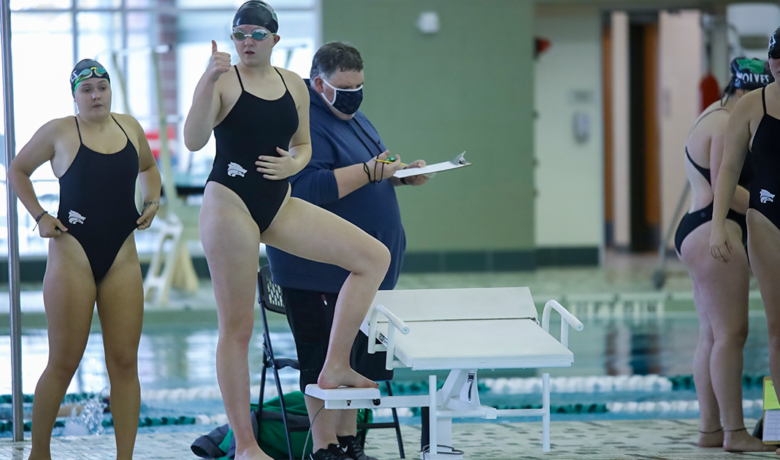 Lady Wolves Host Lady Tigers in Swimming and Diving Dual