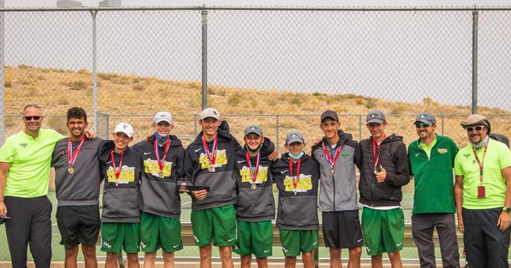 Wolves Win Regional Tennis Title, Crown Nine All-Conference Players