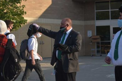 School Districts Address Mask Enforcement in Schools
