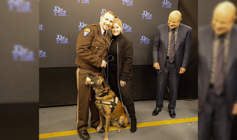 Local Deputy and Canine Duo to Appear on Dr. Phil's TV Show