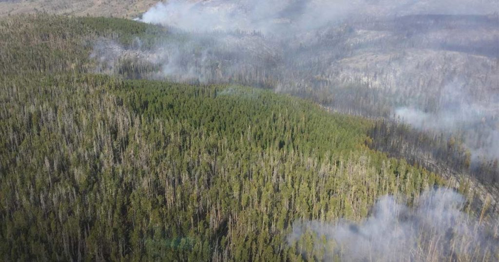 Mullen Fire Remains at 2 Percent Containment; Concerns for Fire Growth Persist