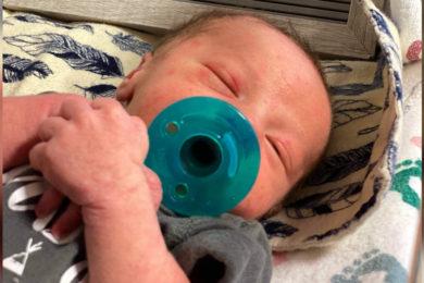 Birth Announcements: Weslee John Zanatian