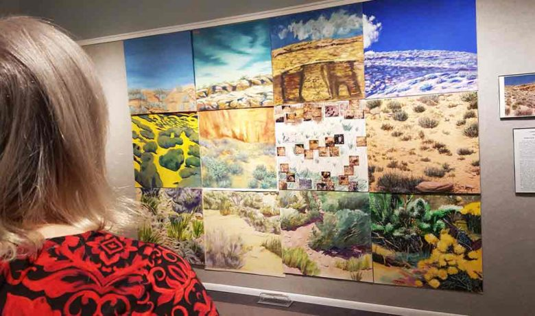 Landscape from 20 Years Ago on Display at Community Fine Arts Center