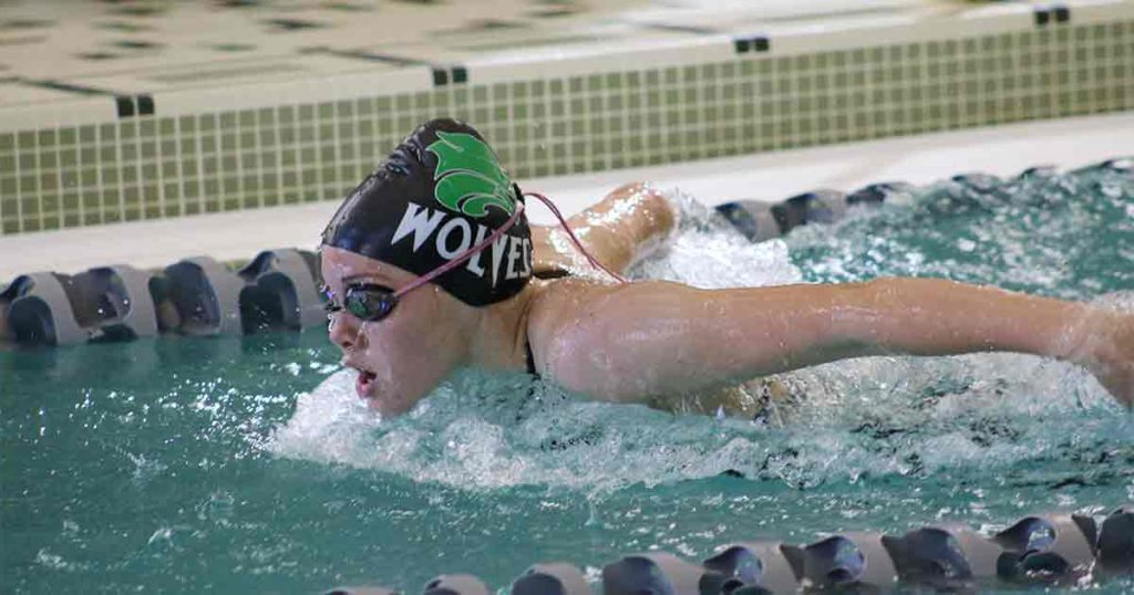 Green River Lady Wolves Swim Hard Saturday