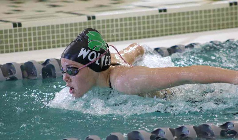 Green River Lady Wolves Swim Hard Saturday
