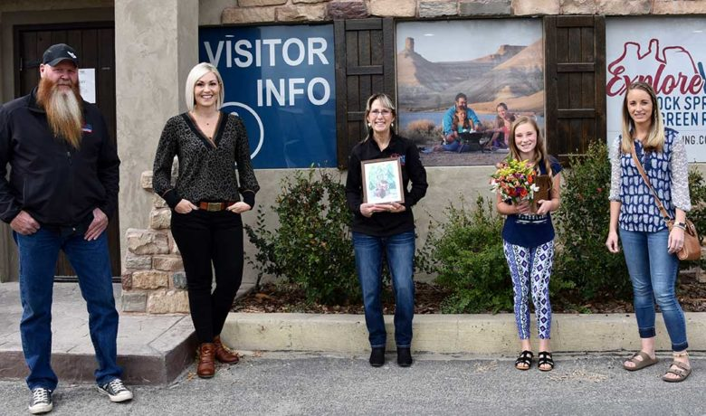 Green River Girl Wins 2020 Arbor Day Poster Contest