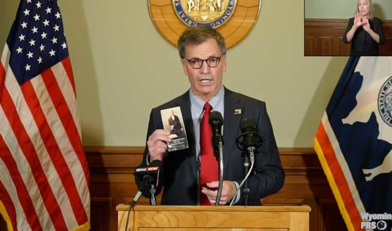 Governor Gordon Re-Emphasizes Personal Responsibility in Slowing Spread of COVID-19