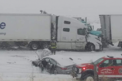 Interstate 80 Pileup Reported Near Burns Sunday Afternoon
