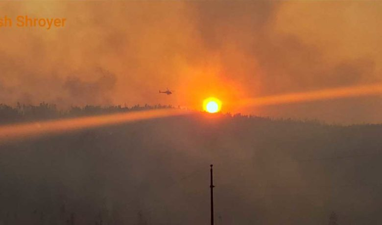 Mullen Fire 14 Percent Contained; Smoke Production High
