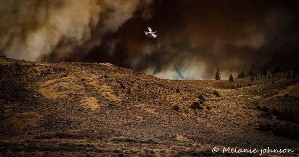 No Change in Mullen Fire Acreage and Containment; Fewer Firefighters on Scene