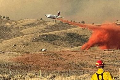 1,057 Firefighters Work to Slow Spread of Mullen Fire