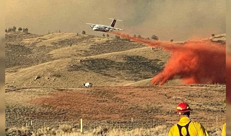 1,057 Firefighters Work to Slow Spread of Mullen Fire