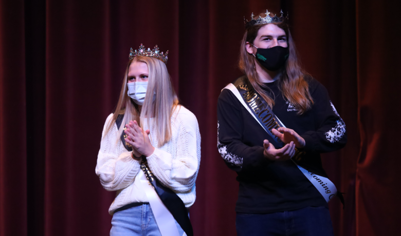 Yost, Jensen Named GRHS Homecoming King and Queen