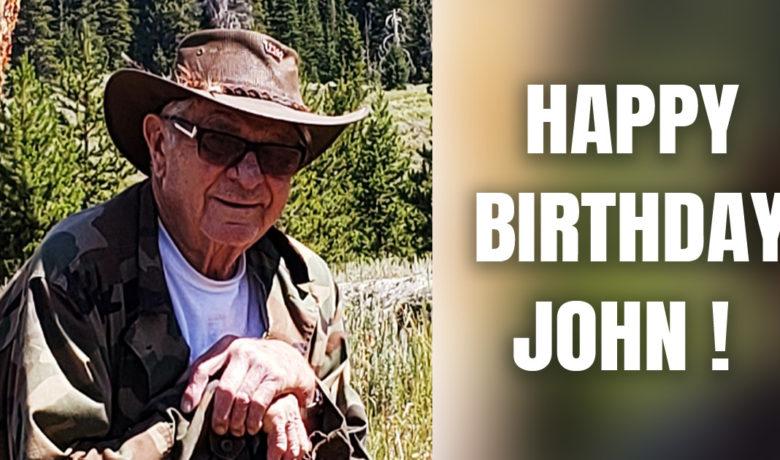 Wish John Fortuna a Happy 90th Birthday!