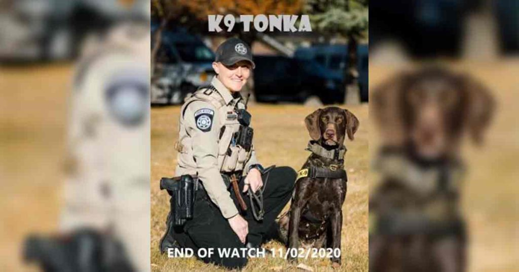 Sublette County Sheriff's Office Mourns Loss of K-9 Tonka