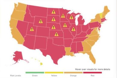 """List Suggests Wyoming Is One of the """"Riskiest"""" Places to Travel during COVID-19 Pandemic"""