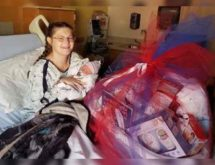 First Baby Born on Veterans Day Receives Surprise from American Legion Post 24