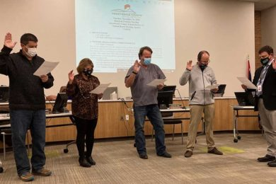 SCSD No. 2 Discusses Budget Shortfall for 2021-2022; Board Members Sworn In