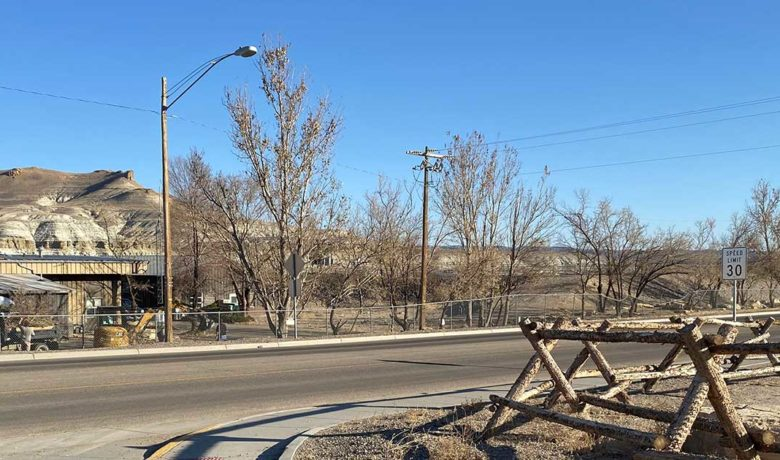 City of Green River to Remove Trees on East Teton for New Water Line