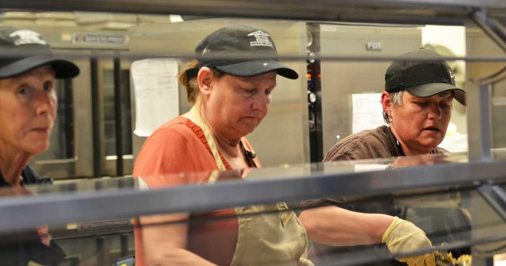 Golden Hour Steps Up to Provide Meals to Young at Heart Patrons