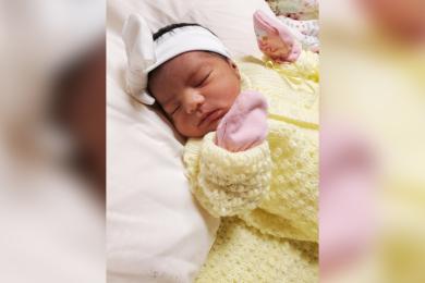 Birth Announcement: Mia Zoe Virgilio-Martinez