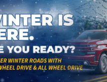Get Winter-Ready in a 4WD or AWD Vehicle from Whisler Chevrolet Cadillac