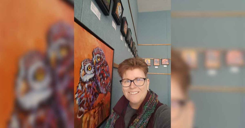 Bird Paintings Now on Display at White Mountain Library