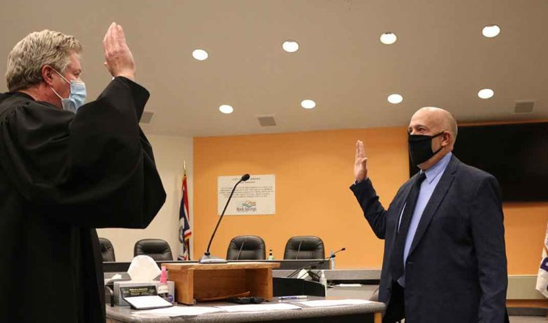 PHOTOS: Rock Springs Council Members Take the Oath of Office