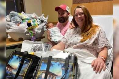 Eamonn Leo Moore is Sweetwater County's First Baby of 2021