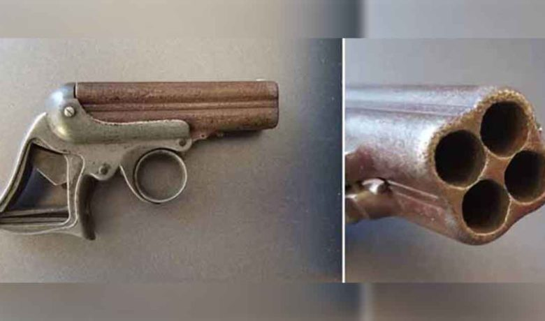 Museum Employees Research Frontier-era Four-Barrel Pocket Pistol