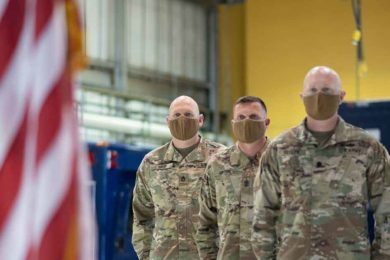 Over 100 Wyoming Guardsmen Called to Support Presidential Inauguration
