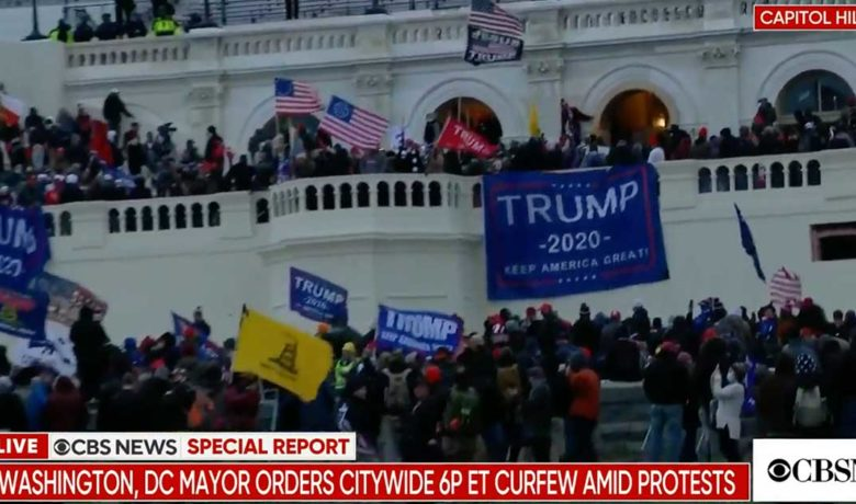 Wyoming Senators, Governor Respond to Trump Supporters Swarming Capitol Hill