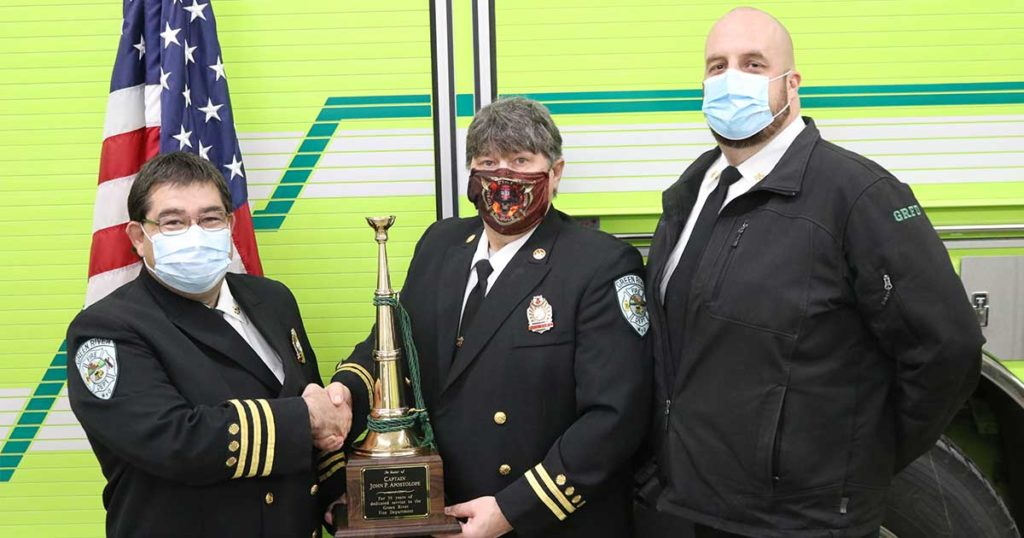 Green River Fire Department Firefighters Recognized for Dedication and Contributions