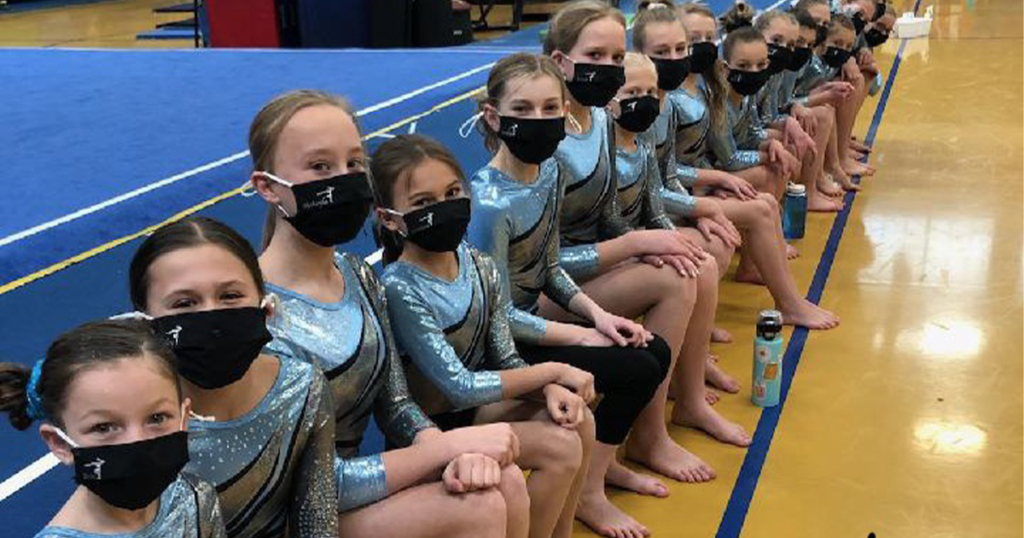 Young Gymnasts Off to a Competitive Season
