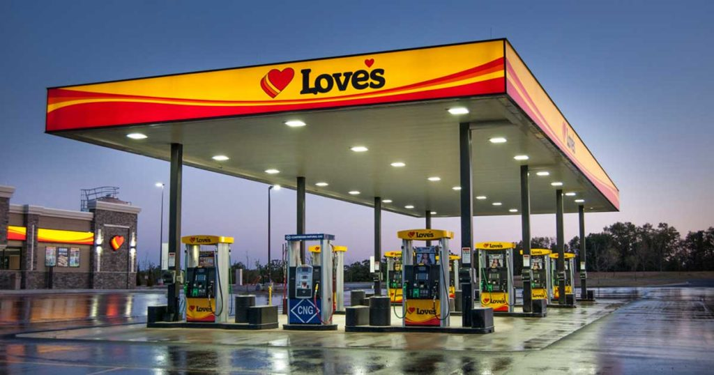 Love's Travel Stop Seeks County Approval for Retail Liquor License