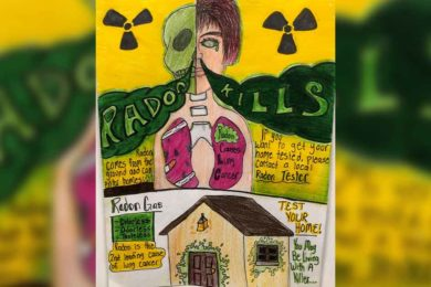 Rock Springs Student Takes 1st in  Radon Poster Contest
