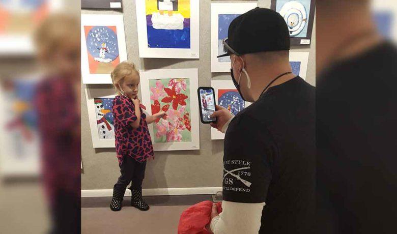 Community Fine Arts Center Displays Students' Artwork