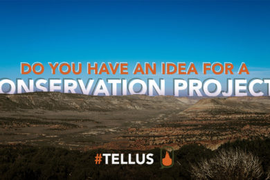 #TELLUS: Do You Have an Idea for a Conservation Project?
