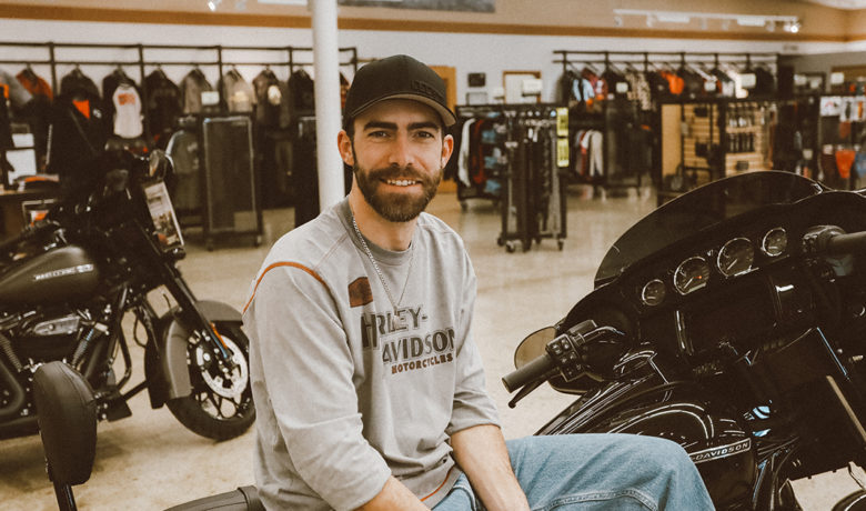 #HOMETOWN HUSTLE: Dennis Laughlin | Flaming Gorge Harley Davidson