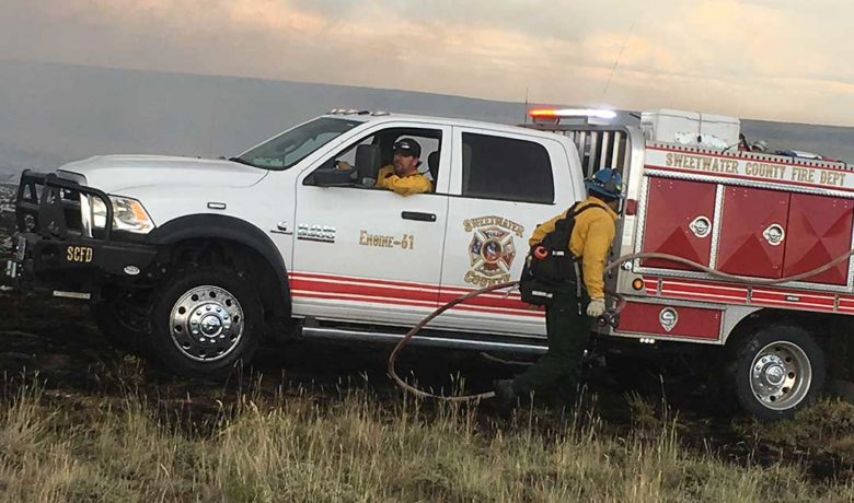Sweetwater County Commissioners to Hear Briefing on 2020 Fire Year