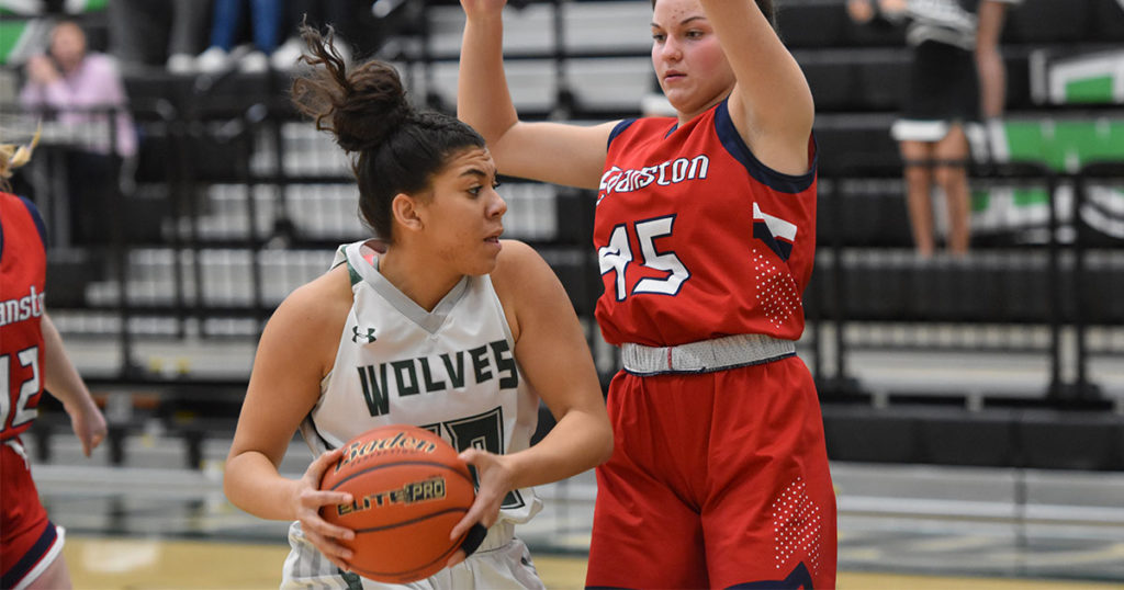 Lady Wolves Beat Evanston; Wolves Fall in Close Game