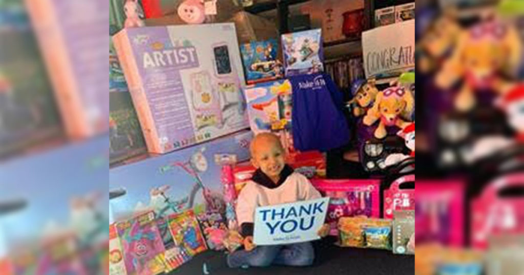 Rock Springs Girl Gets Shopping Spree through Make-A-Wish Wyoming