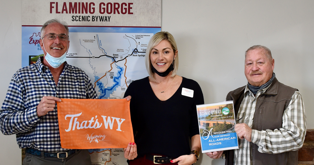 Flaming Gorge – Green River Basin Scenic Byway Designated as All-American Road