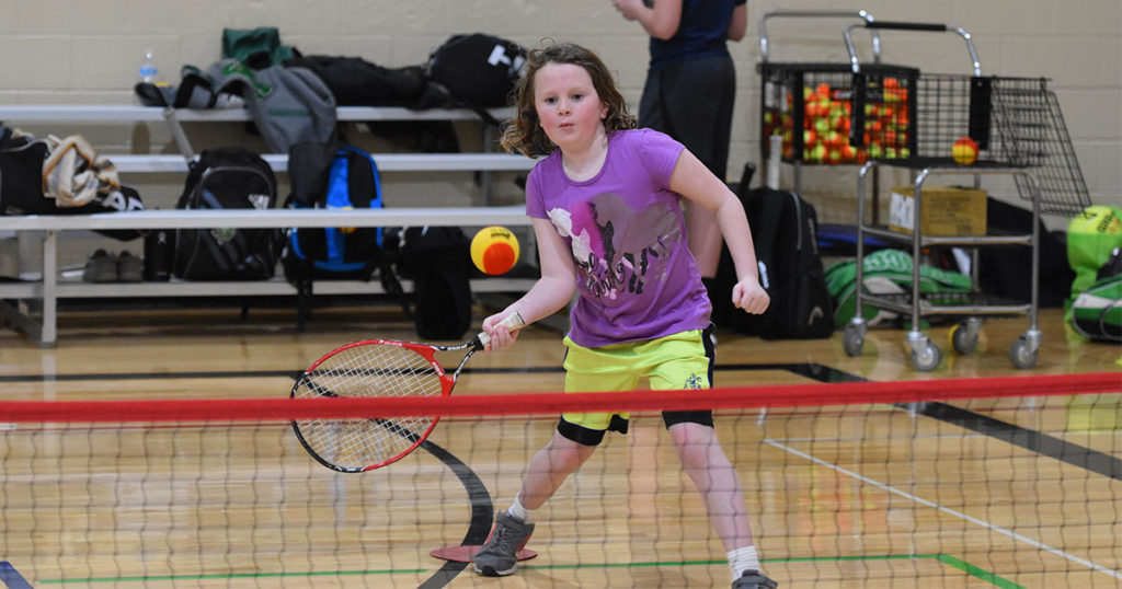 GRHS Tennis Team Hosts Clinic for Youth