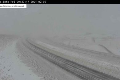Special Weather Statement Issued for Sweetwater County, Portions of I-80 Remain Closed