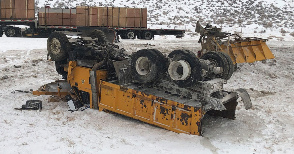 WYDOT Urges Caution After 10 Snowplows Struck Over 5-Day Span