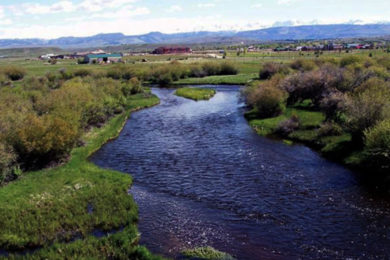 Fish Habitat Improves on New Fork River South of Pinedale