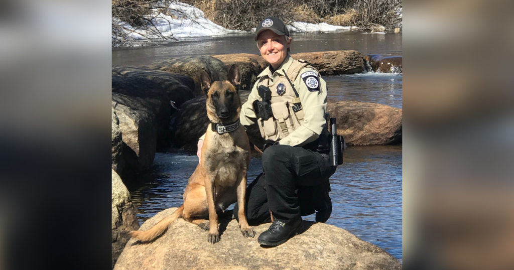 Sublette County Sheriff's Office Adds K9 Frankie to the Team