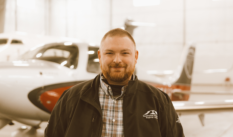 #HOMETOWNHUSTLE: Devon Brubaker | Southwest Wyoming Regional Airport