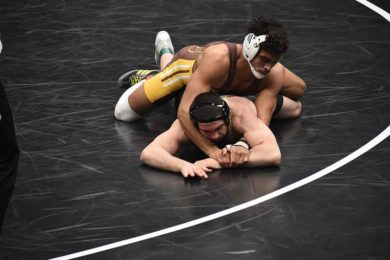 UW Wrestler Earns All-American Honors at NCAA Championships